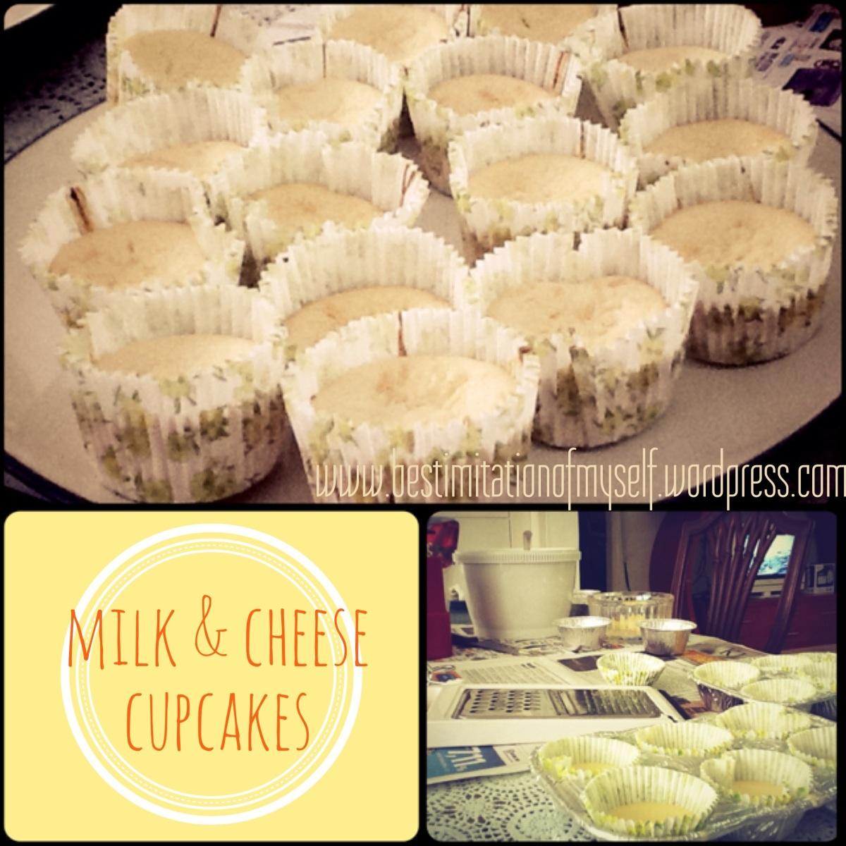 (LatePost) Milk & CheeseCupcakes